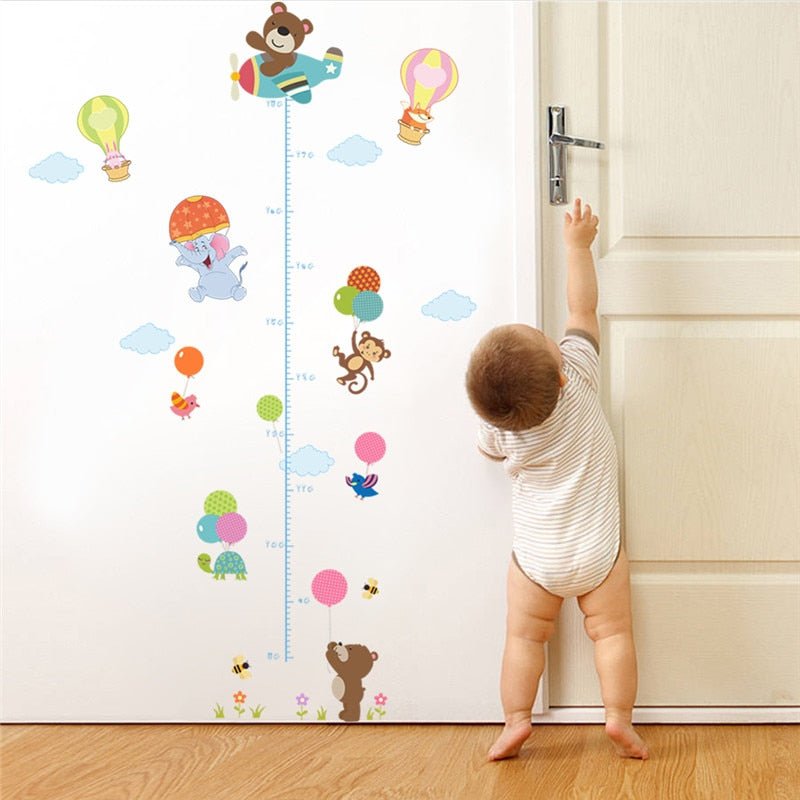 Floating Animals Growth Chart
