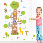Animal Treehouse Growth Chart