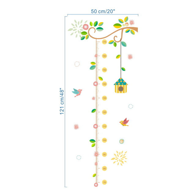Birdhouse Growth Chart