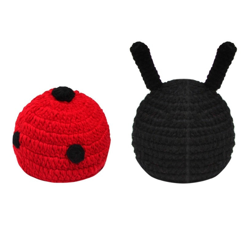 Ladybug Cotton Knitted Costume (2 piece)