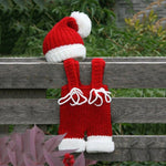 Baby Christmas Crochet Knit Costume Set (2 pieces)