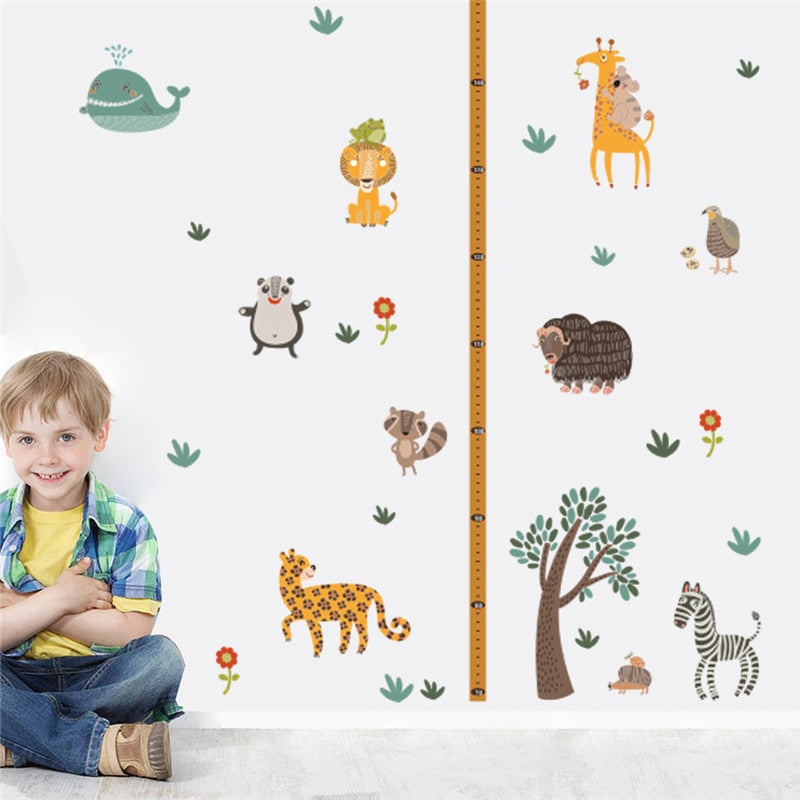 Zoo Animals Growth Chart