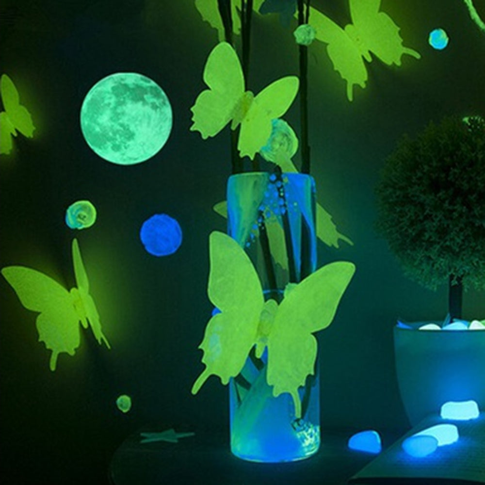 Glow In The Dark Wall Stickers (6 options)