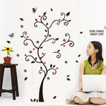 Small Family Tree Wall Decal