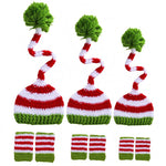 Hat Legging Crochet Knit Costume Hats (2 pieces)