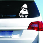 Baby on Board - Tough Guy Baby Car Sticker