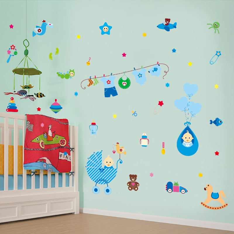 Baby Room Wall Stickers