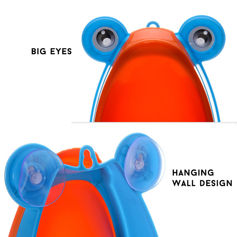 Kids Frog Potty Toilet Urinal Pee Trainer Wall-Mounted