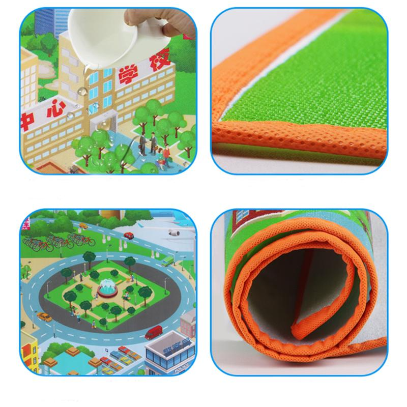 Baby Play Mat City Road Waterproof & Foldable
