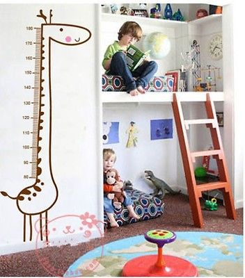 Cute Children Wall Growth Chart
