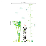 Pandas & Bamboo Growth Chart