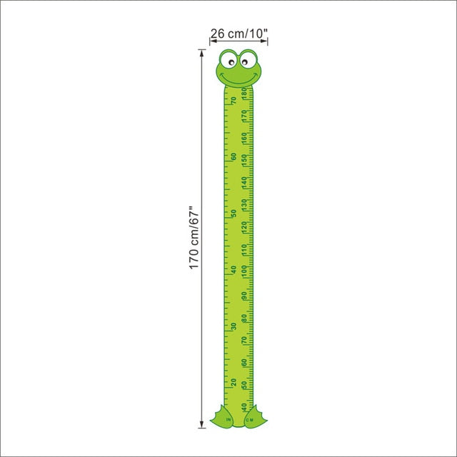 Green Frog Growth Chart