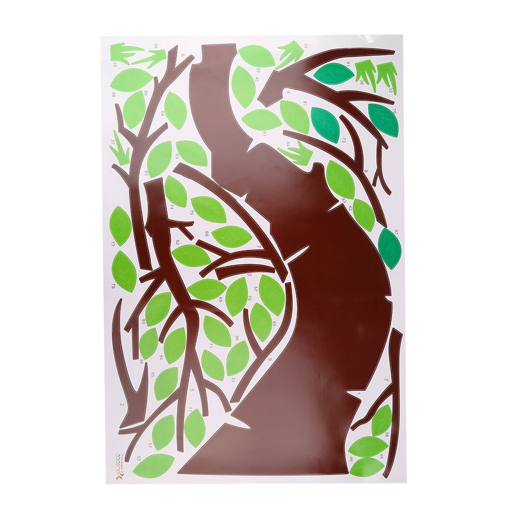 Animals Around the Tree Wall Stickers