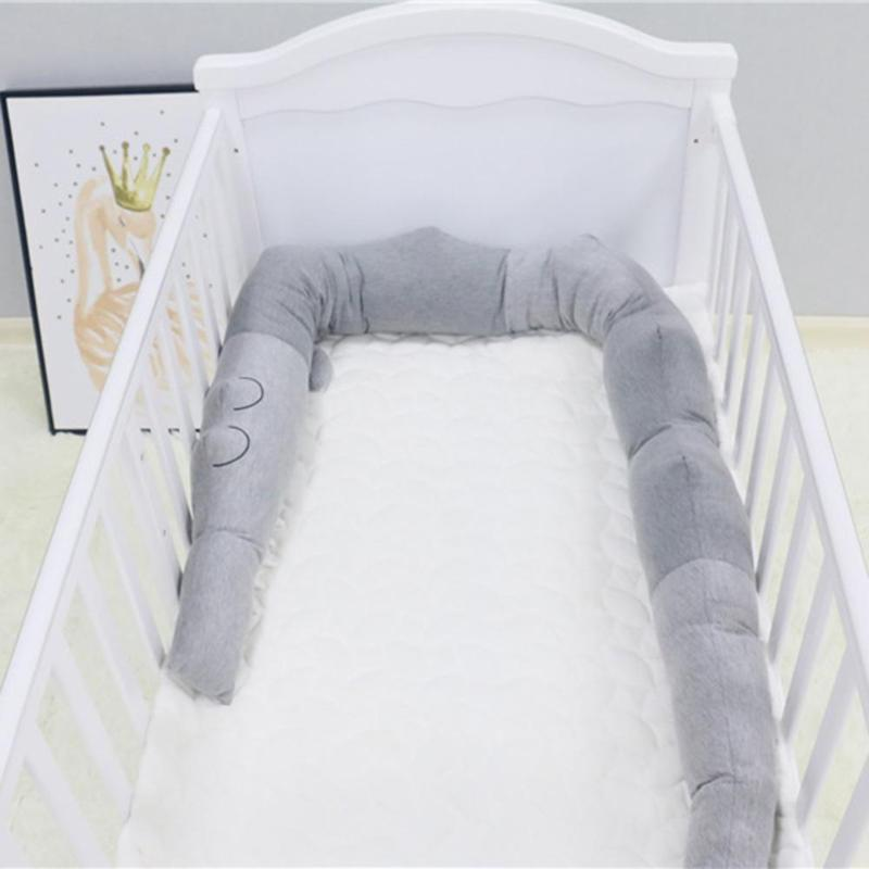 Alligator Baby Crib Bumper