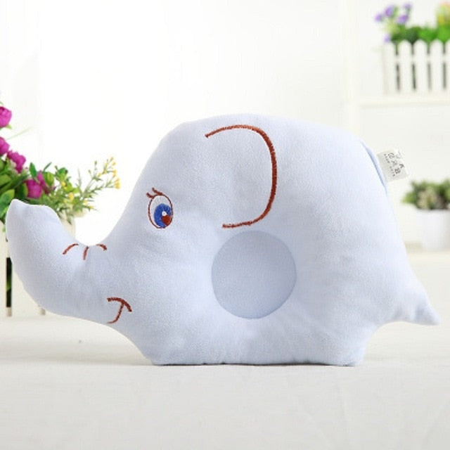 Elephant Nursing Pillow Baby Head Protection Positioner
