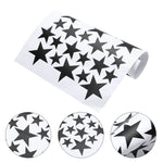 Five-pointed Stars Wall Stickers