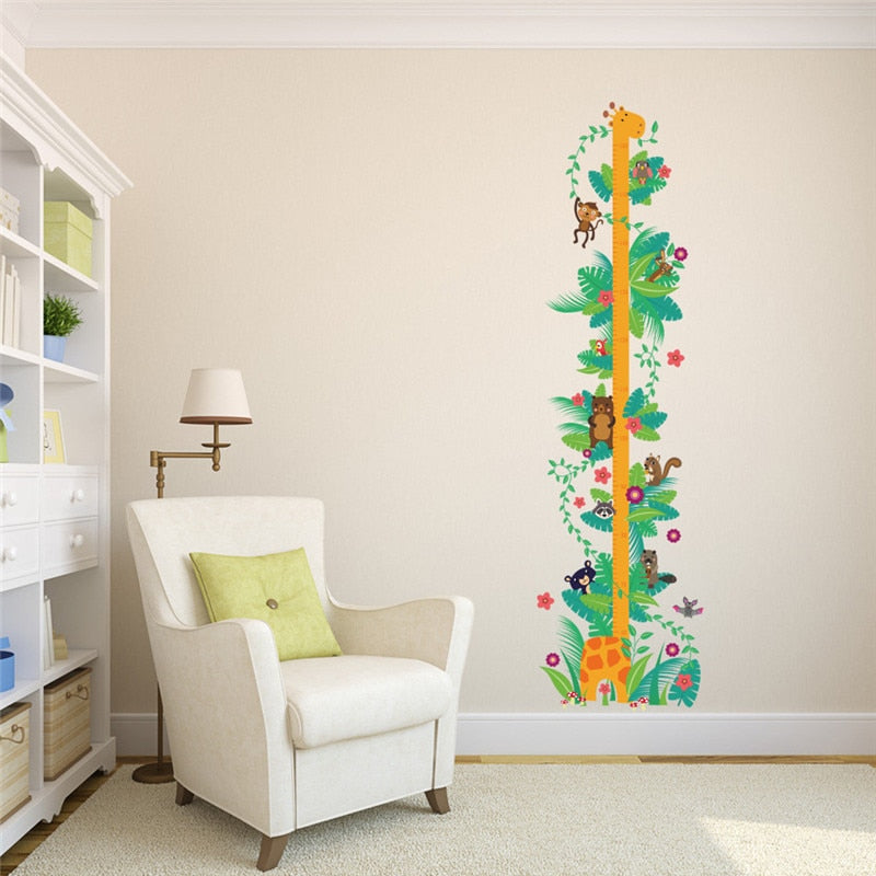 Forest Animals Growth Chart