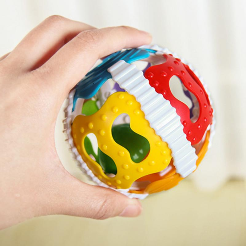 Colorful Handrattle Ball