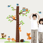 Tree with Animals Wall Growth Chart
