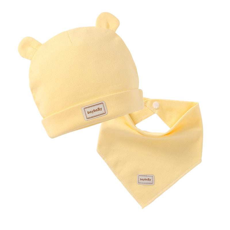 Cotton Double Layer Hat or Bib