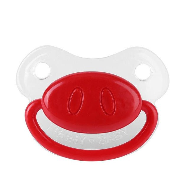 Funny Silicone Baby Pacifiers/Teether