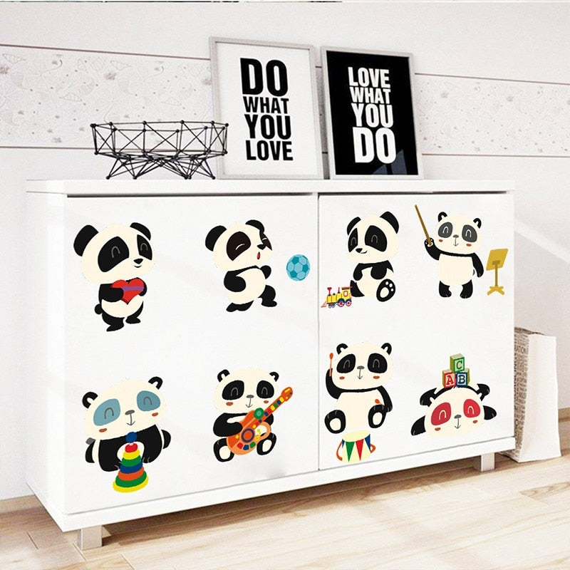Forest Pandas Wall Stickers