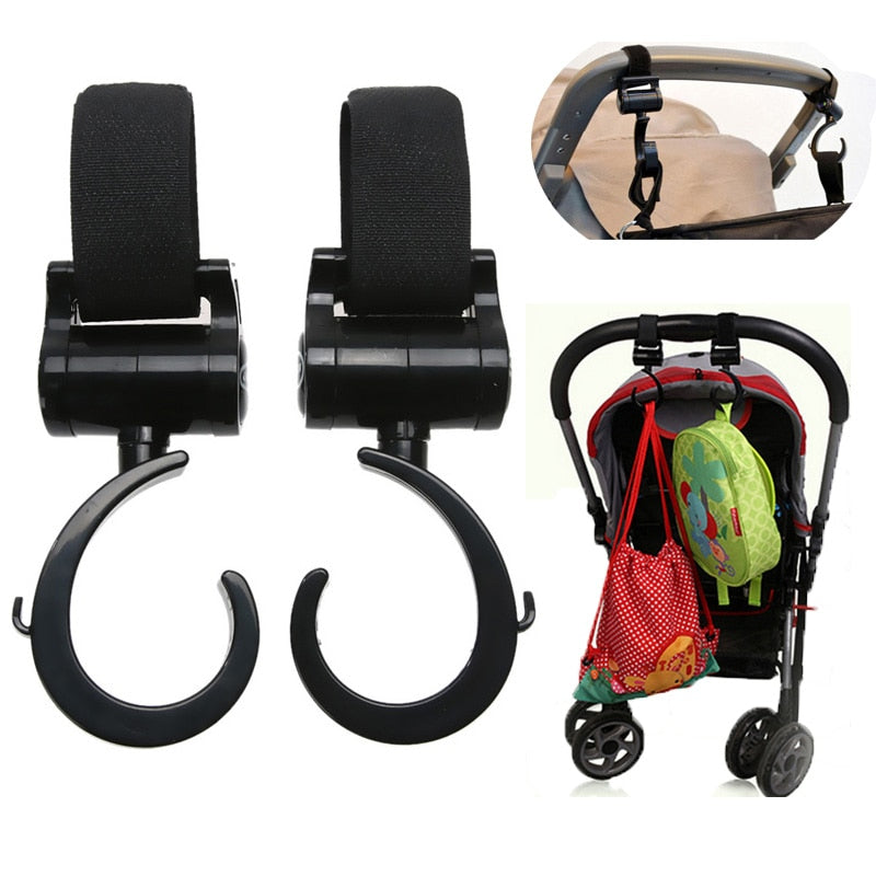 Baby Stroller Hooks Multi Purpose Hanger (Set of 2)