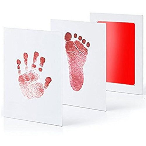 Baby Care Non-Toxic Baby DIY Handprint Footprint Imprint Kit