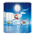 Christmas Style Shower Curtains (6 options)