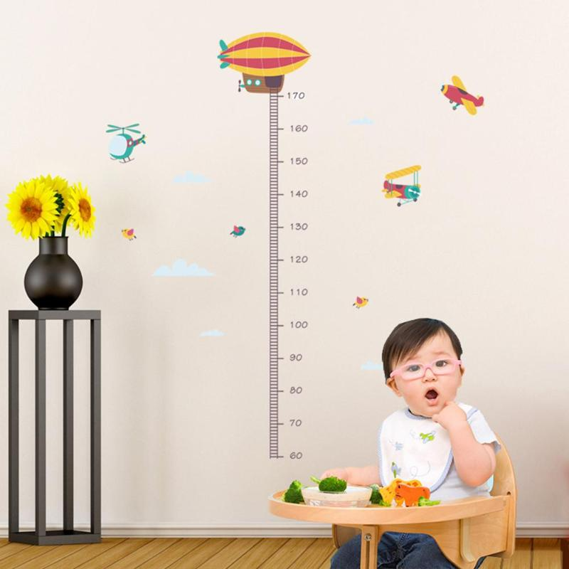 Animals or Airplanes Growth Chart