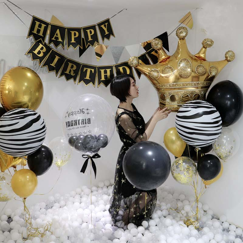 Crown Balloon for First Birthday