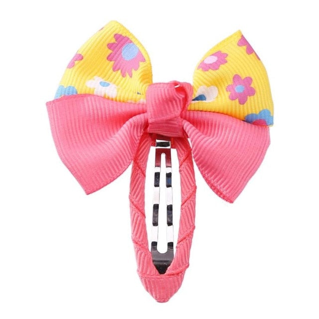 Cute Kids Baby Bowknot Barrettes