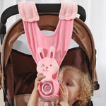 Creative Cute Baby Animal Stroller Feeding Milk/Water Bottle Holder