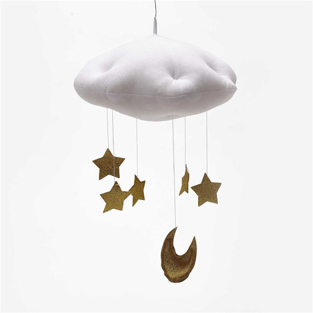 Hanging Raining Clouds & Moon