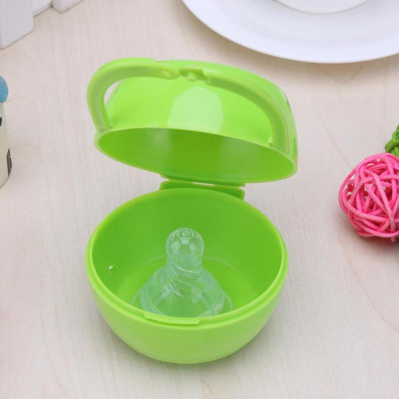 Baby Nipple or Teether Storage Container