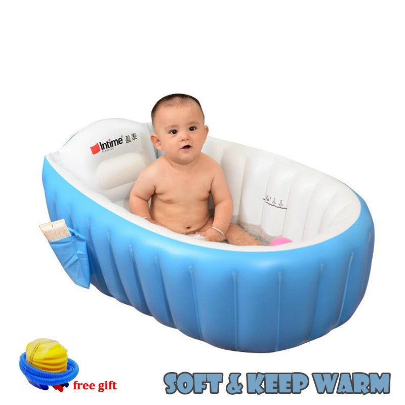 Portable Inflatable Bathtub With Free Air Pump