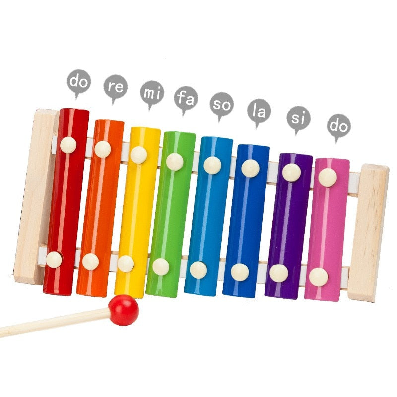 Wooden Xylophone Musical Instrument