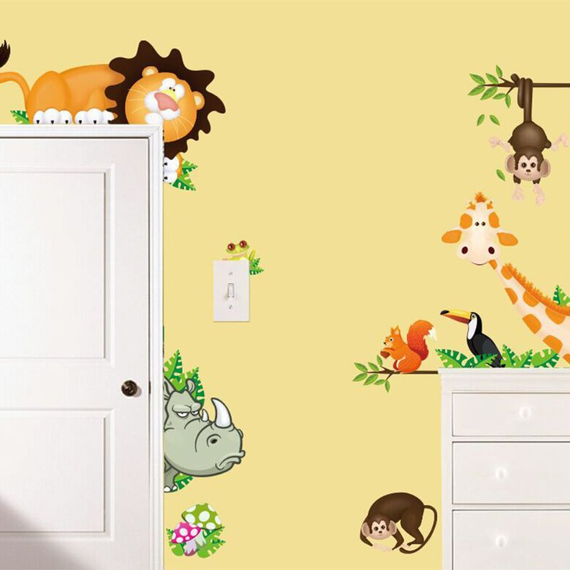 Jungle Animals Wall Sticker