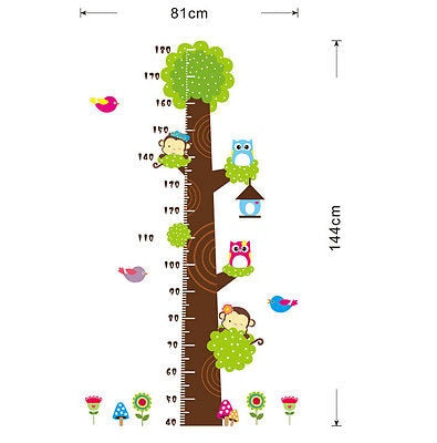 Animals in a Tree Growth Chart