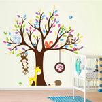 Monkeys & Owls Wall Sticker