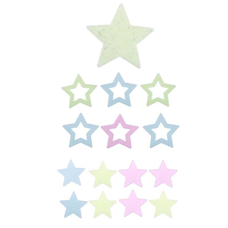 Luminous Fluorescent Star Wall Stickers