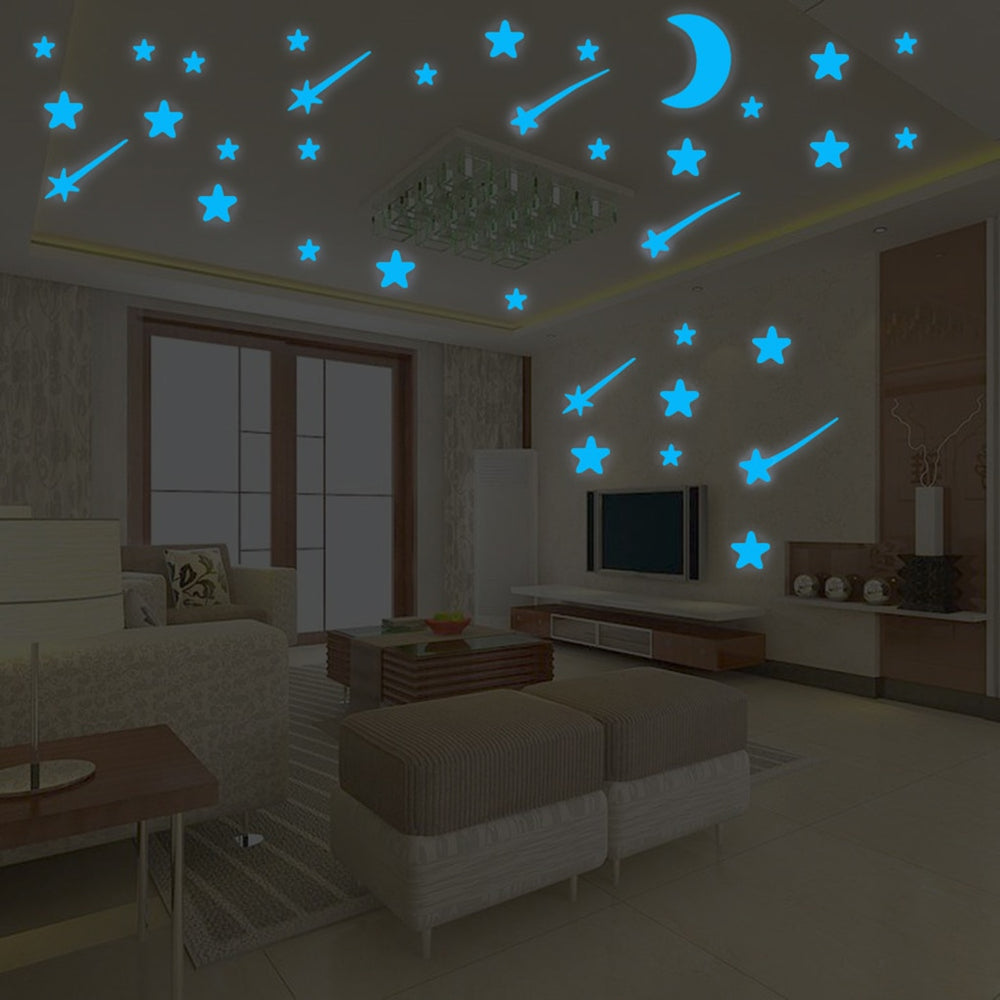 Night Sky Luminous Wall Stickers