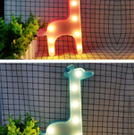 Giraffe LED Light