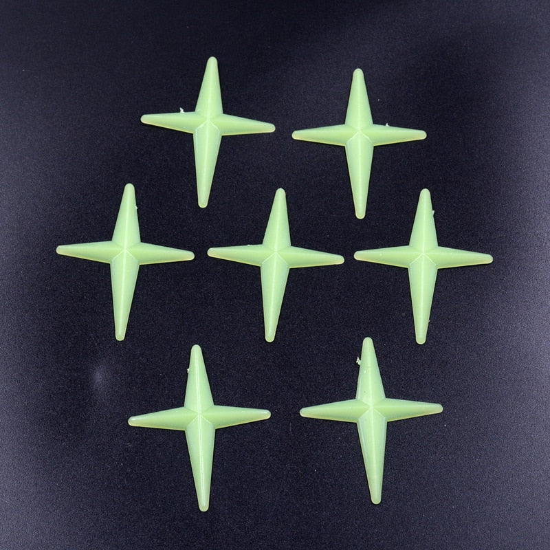 Glow in the Dark Shining Stars (50 pieces)