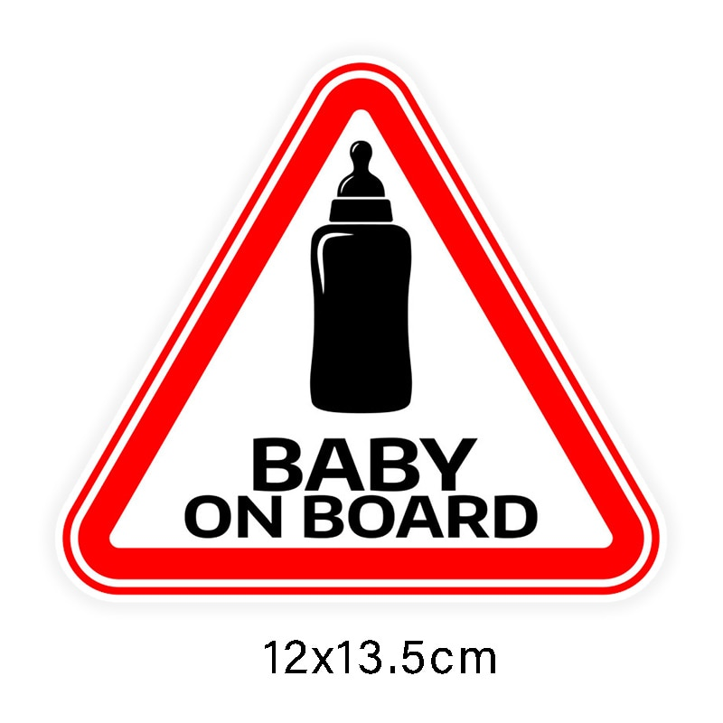 Baby on Board Stickers (2 options)
