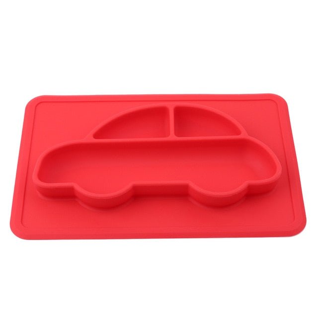 Silicone Baby Placemat Dish