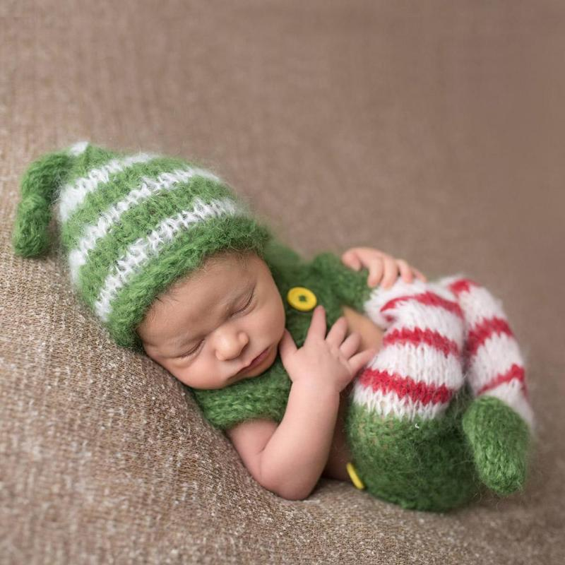 Baby Costume Photography Prop Crochet (2 pieces)