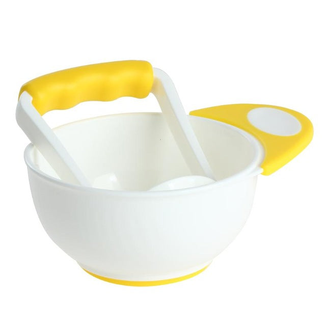 Baby Food Grinding Bowl & Masher