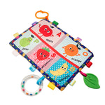 Soft Cloth Educational Toy with Teether and Rattle