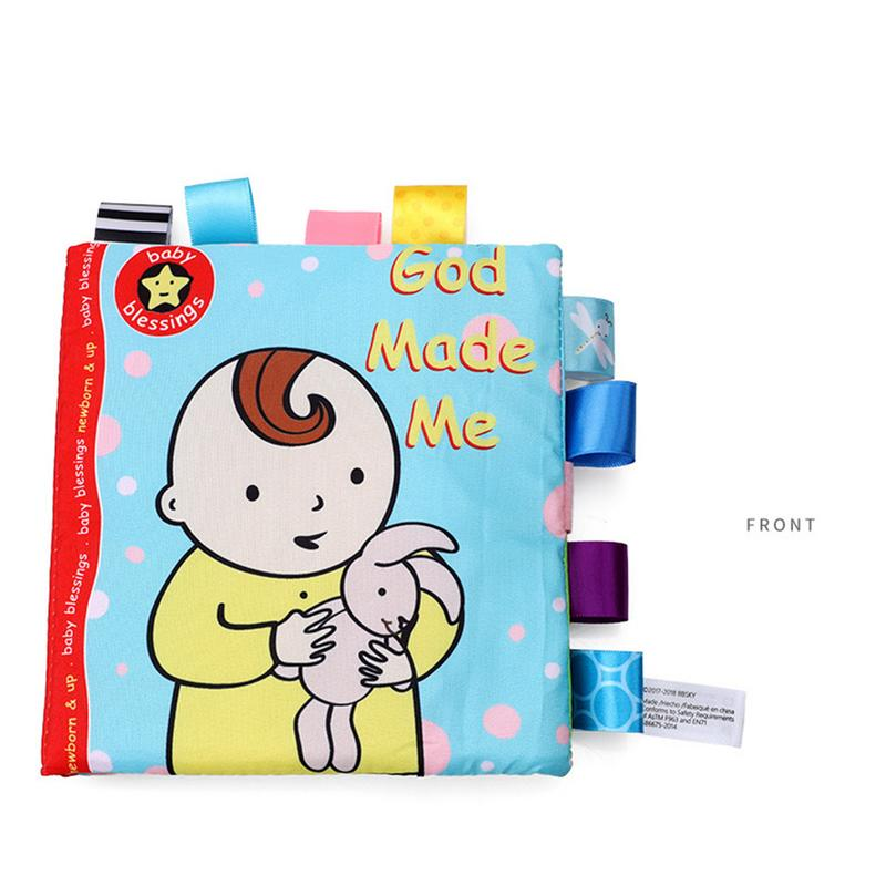 God Made Me Cloth Book